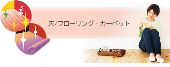 東京都(首都圏23区) ハウスクリーニング 各種工事 「床 / フローリング・カーペット」